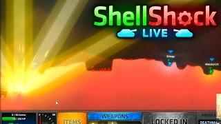 GOD GRENADE! - SHELLSHOCK LIVE #4 with Vikk, Josh, Simon & Tobi