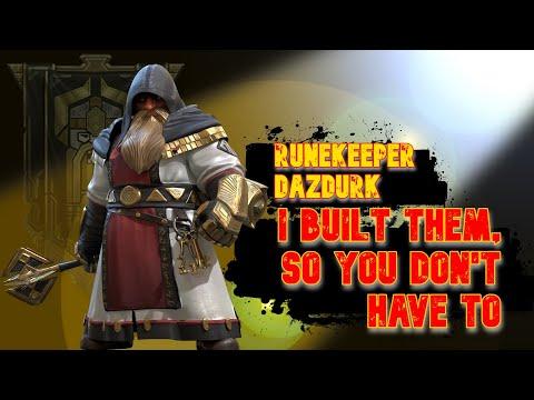 RUNEKEEPER DAZDURK | I Built Them, So You Don't Have To | RAID: Shadow Legends
