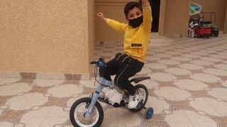 فاجات الياس بدراجه الجديدة !