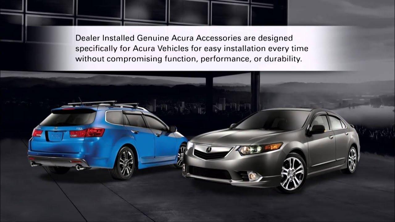 Acura TSX Wagon Accessories YouTube - Acura tsx accessories