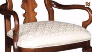 Kincaid 60-062n Carriage House Queen Anne Arm Chair