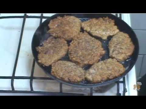 Оладьи из печени пошаговый рецепт с фото