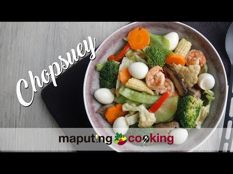 Chop Suey with Quail Eggs & Squid Balls   Filipino Cooking with Chris Urbano