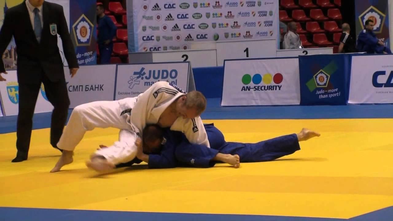 Judo Veterans EM 2012 Opole M3-73kg Baur(GER) - David(FRA)