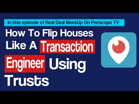 How To Flip Houses Using Trusts   Real Deal MeetUp TV   Learn Real Estate