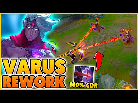 *VARUS REWORK* MY ABILITIES CAN NOW HAVE 100% CDR - BunnyFuFuu | League of Legends