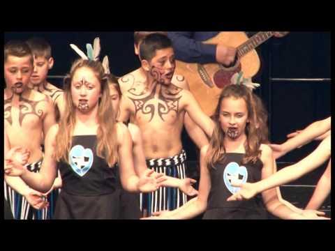 St Marys Carterton Seniors performance at 2016 Kapa Haka Festival