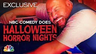 Universal Studios Halloween Horror Nights Haunted House Walkthrough with Colton Dunn & Rizwan Manji