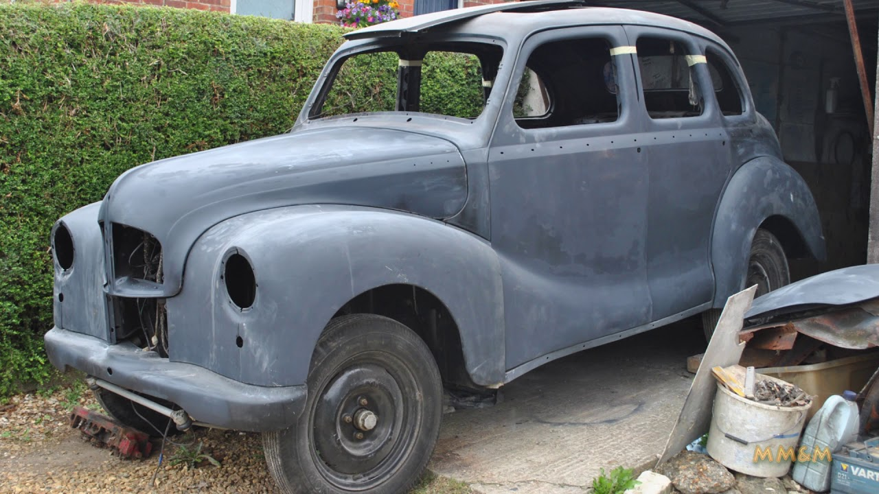 Restoration Of A 1949 Austin A40 Devon Youtube