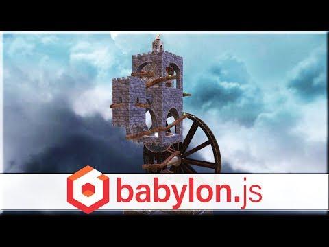 BabylonJS -- Free, Open Source, HTML5, 3D Game Engine Improved!