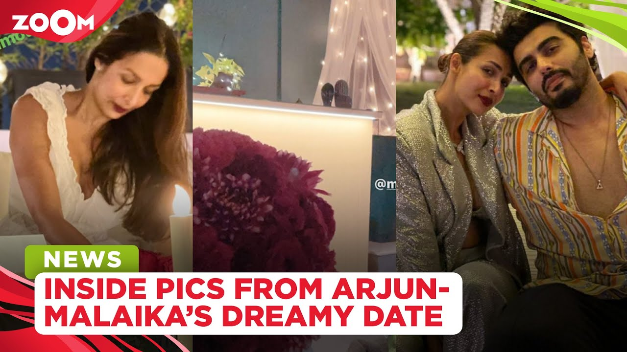 Arjun Kapoor plans a dreamy & romantic date with roses, candles for ladylove Malaika Arora