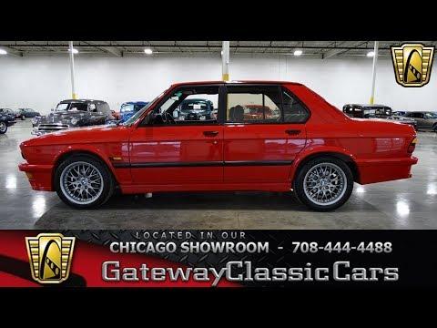 1987 BMW M535i Gateway Classic Cars Chicago #1355