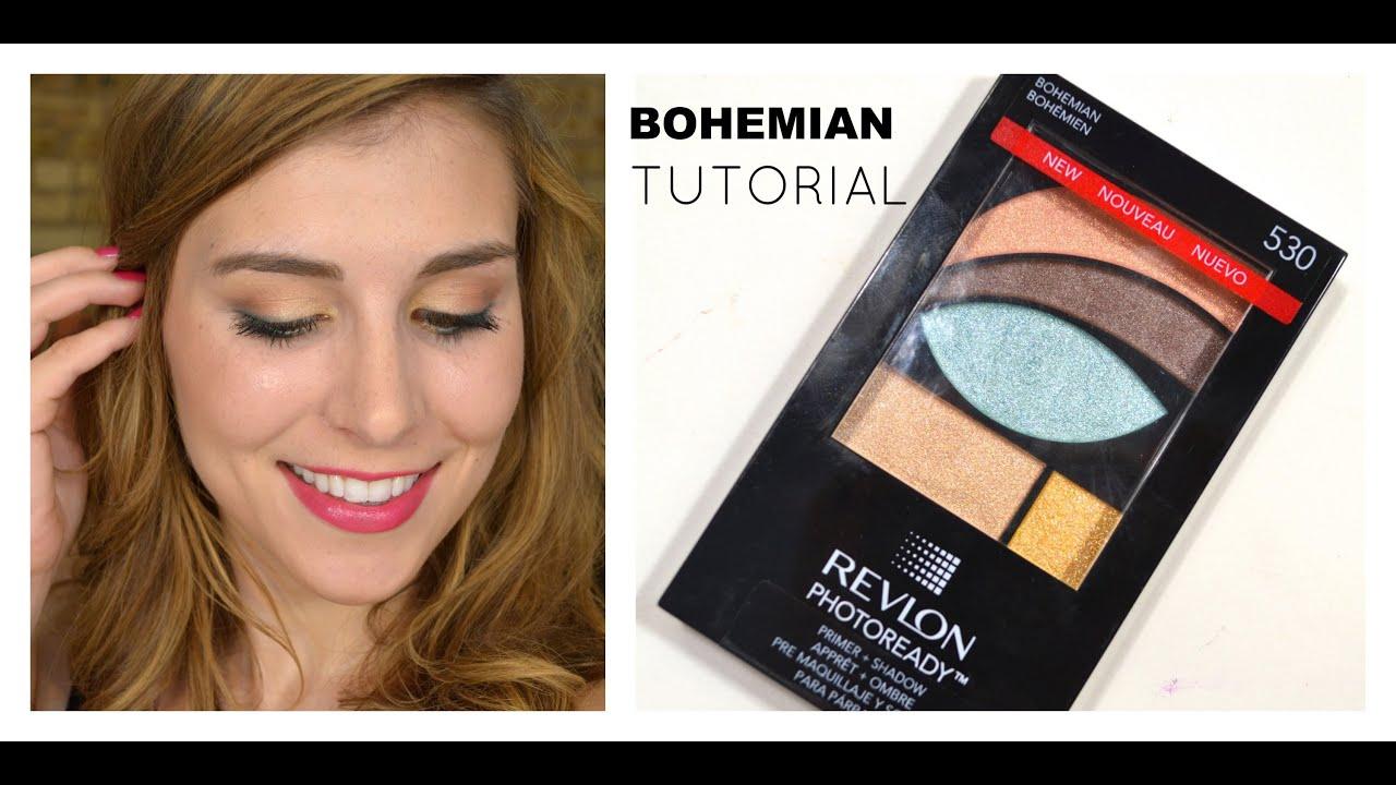 Drugstore tutorial revlon bohemian palette bailey b youtube ccuart Images