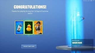 CLAIM TODAY'S FREE ITEMS NOW in Fortnite!