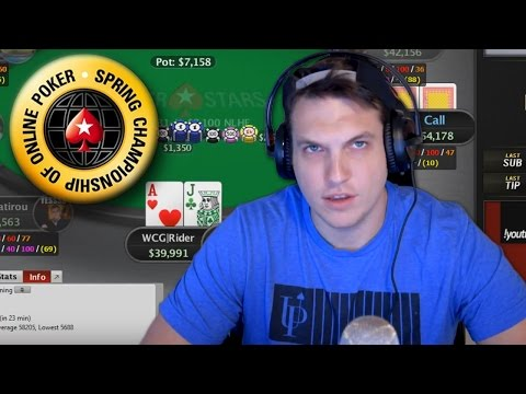 Streaming $2,000 Tournaments And A Big Stack In The Sunday Million!