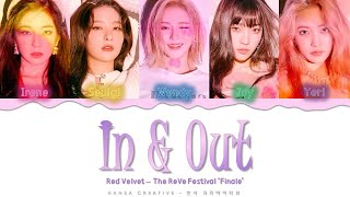 Gambar cover Red Velvet - 'In & Out' Lyrics Color Coded (Han/Rom/Eng)