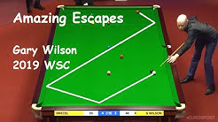 Gary Wilson - First-try Escapes - 2019 World Snooker Championship