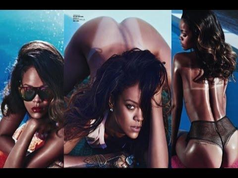 Las fotos de Rihanna completamente desnuda