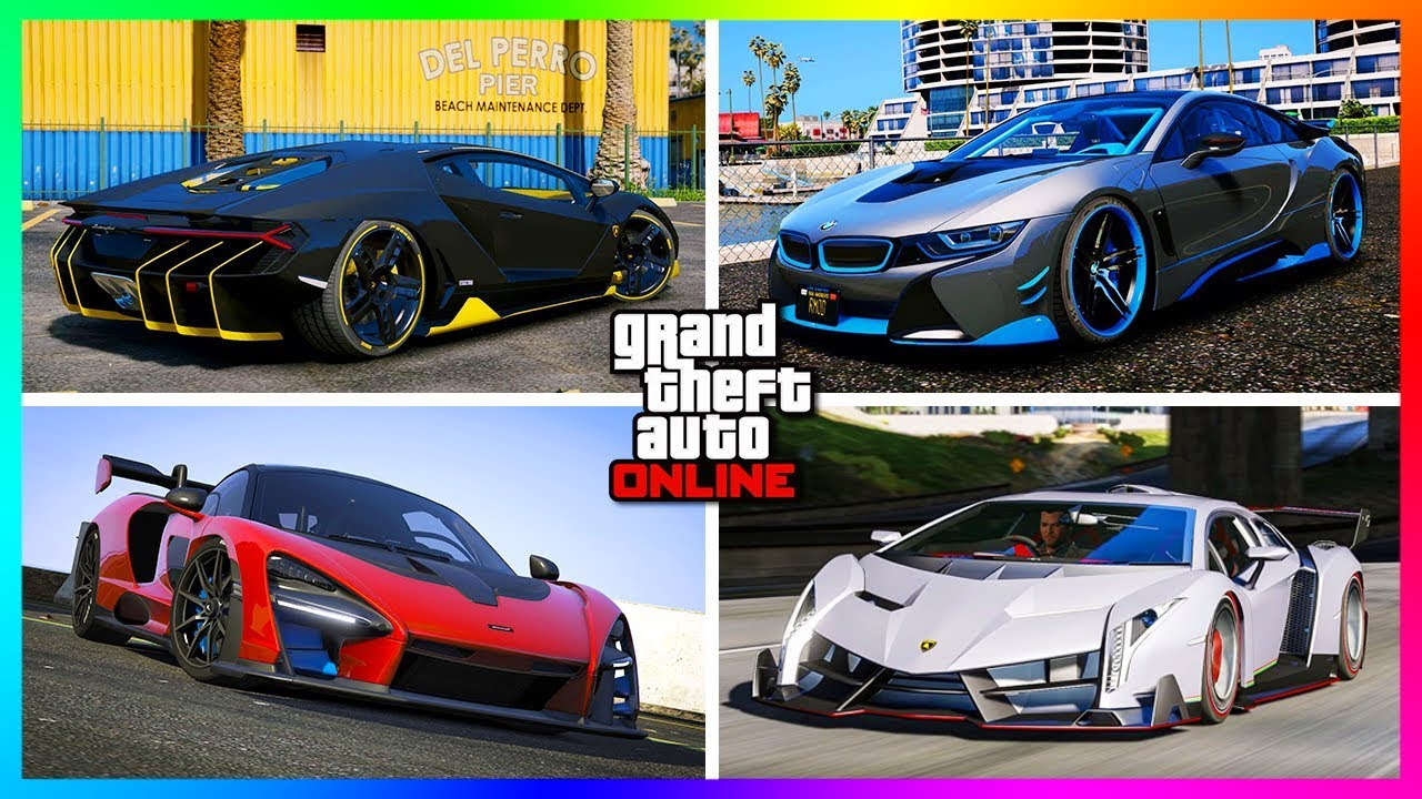 Top 8 Best Super Cars In Gta Online Updated 2018 Youtube