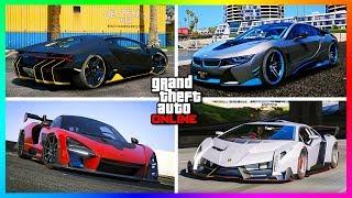 TOP 8 BEST SUPER CARS IN GTA ONLINE! (UPDATED 2018)