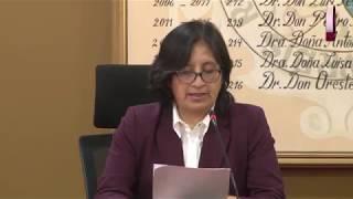Tema: Se instala comisión evaluadora externa para E.P. De Bibliotecología
