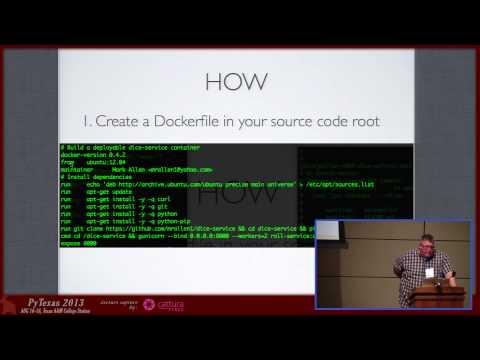 Image from Docker (Lightning Talk)