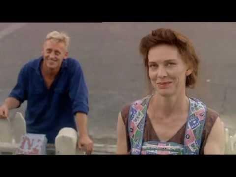 Geoffrey Rush, Mark Hembrow and Judy Davis in Porch Scene - Swimming Upstream