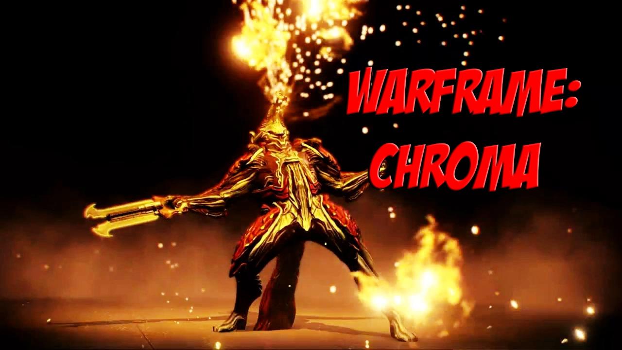 how to build chroma warframe