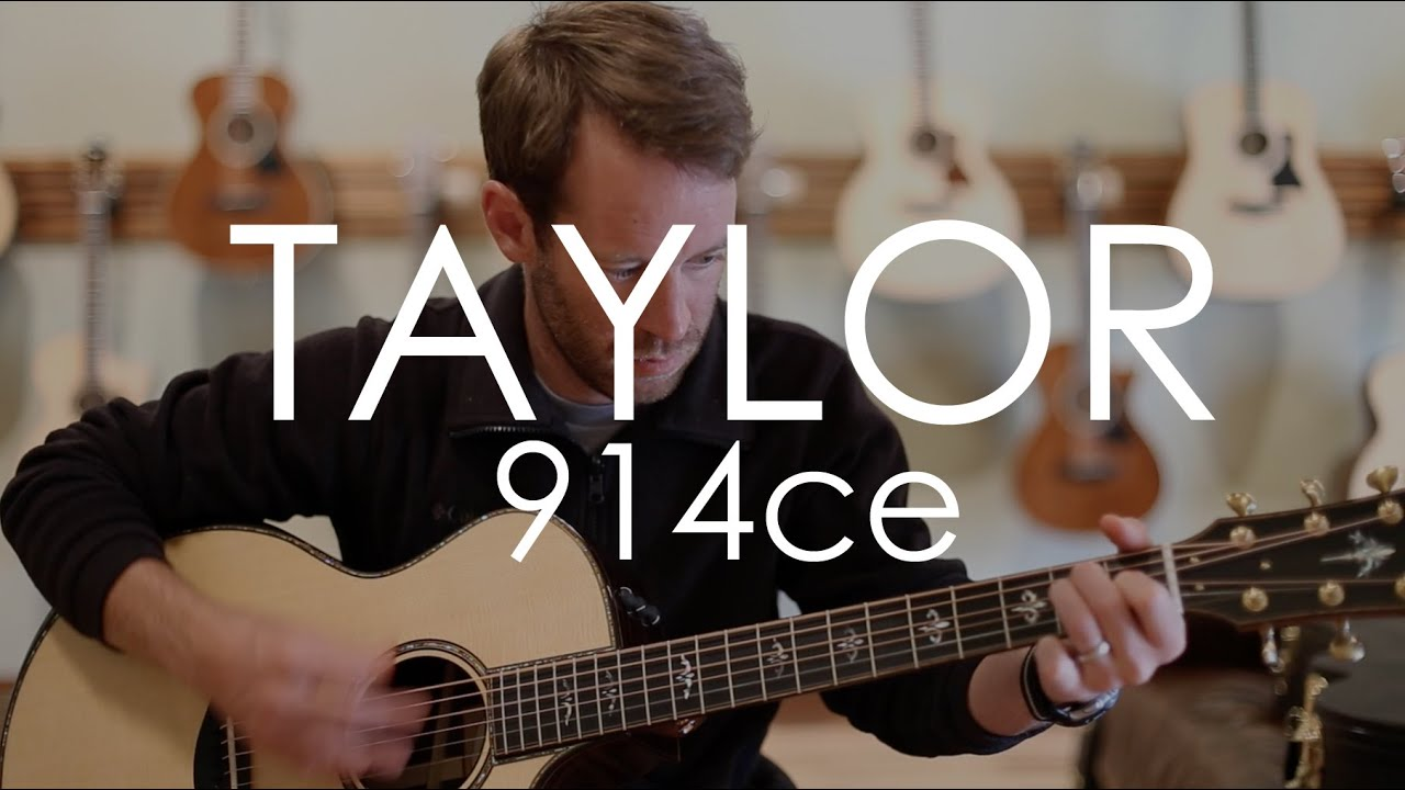 Taylor 914ce 2015 Update