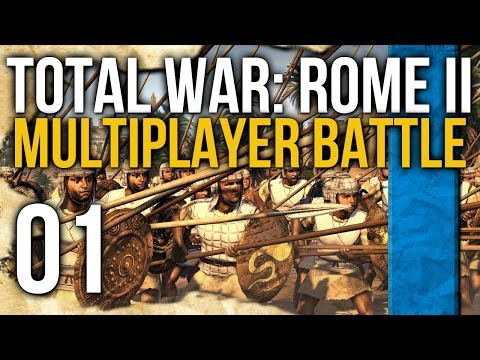 Total War: Rome II Multiplayer - 01 - Egypt vs Parthia! |