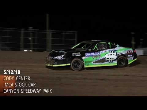 5/12/18 IMCA Stock Car Main Event Canyon Speedway Park