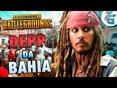 Johnny Depp da BAHIA