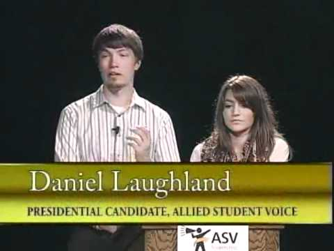 Your Voice Your Vote - 2012 UWM Student Association Presidential Debate