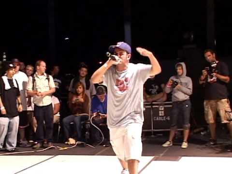 Scribble Jam 2006 - MC Finals - Tut vs Thesaurus