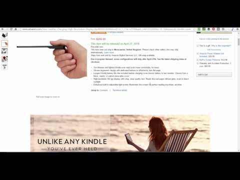 Review of Kindle Oasis 300 PPI Screen