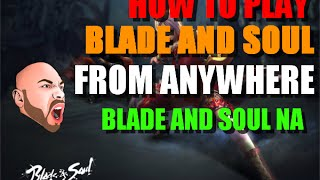 How to copy blade and soul to another computer.