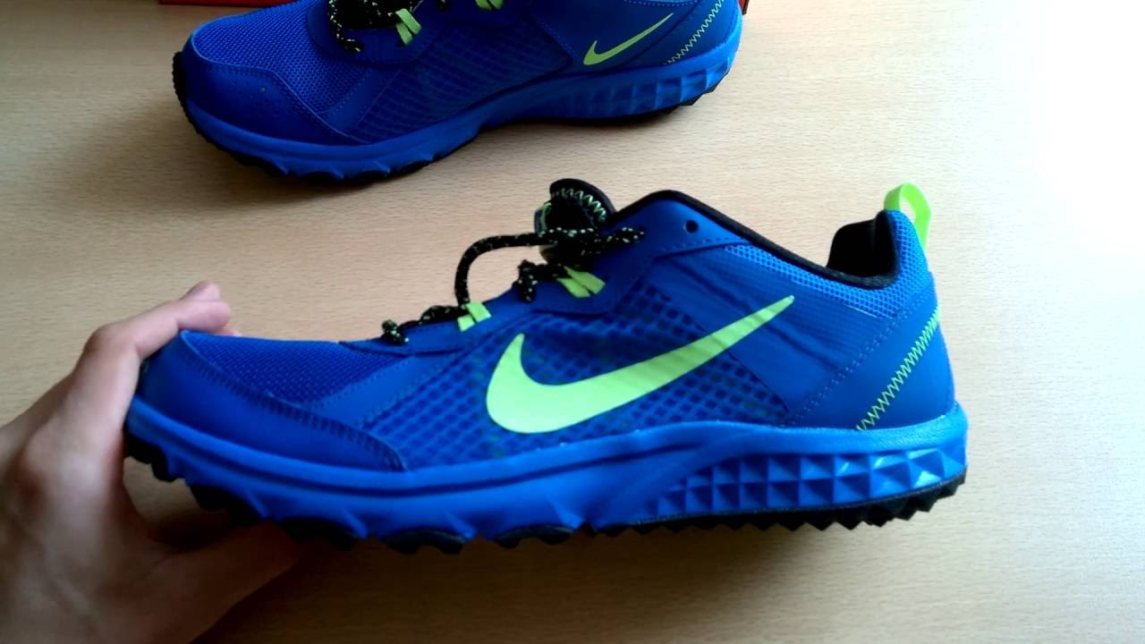 28478aebb65 Unboxing butów  shoes Nike Wild Trail 642833-406 - YouTube