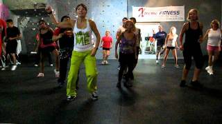 Dance Fitness Choreography Cupid Shuffle Remix.AVI
