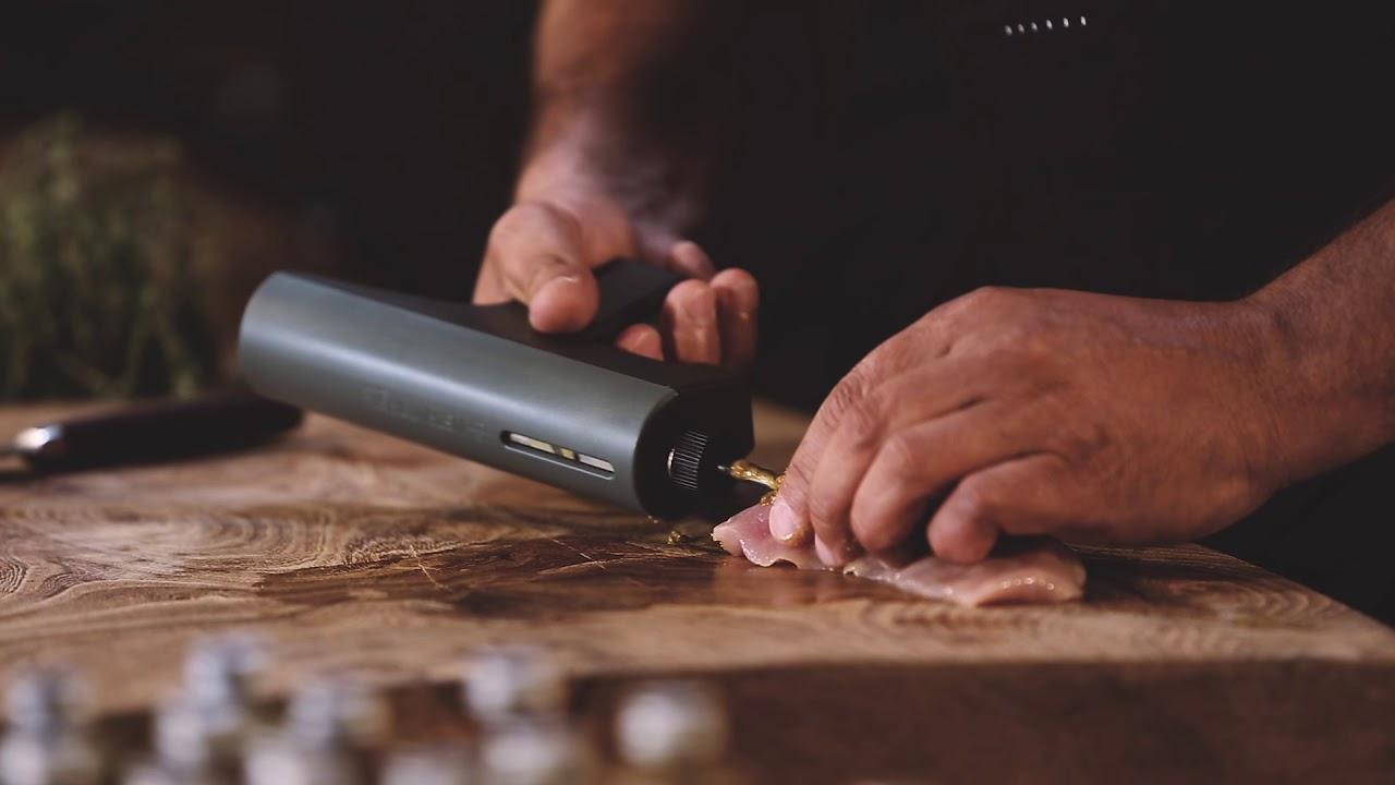 Marinade Pistol inkl. 7 marinader & rensebørste