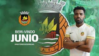 Bem-vindo Junio Rocha