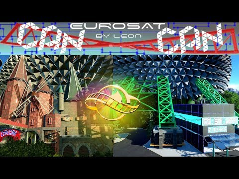EUROSAT 2.0 CanCan COASTER [PLANET COASTER] [ONRIDE] [POV] [PROJECT] ~By Leon