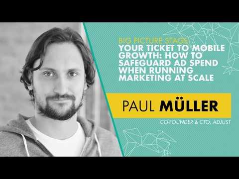 Paul H. Müller, Co-Founder & CTO, Adjust - Big Picture Stage | OMR18