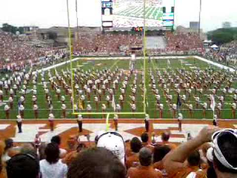 Texas Longhorns vs Texas Tech Sep 19 2009 : LONGHORN BAND ...