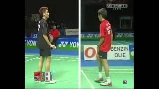 all england open 2006 mssf lin dan vs lee chong wei part 3