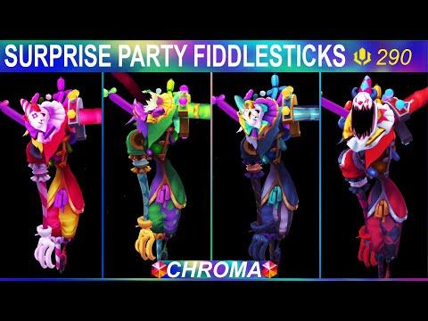 Surprise Party Fiddlesticks Chroma Rework 2020 - League Of Legends
