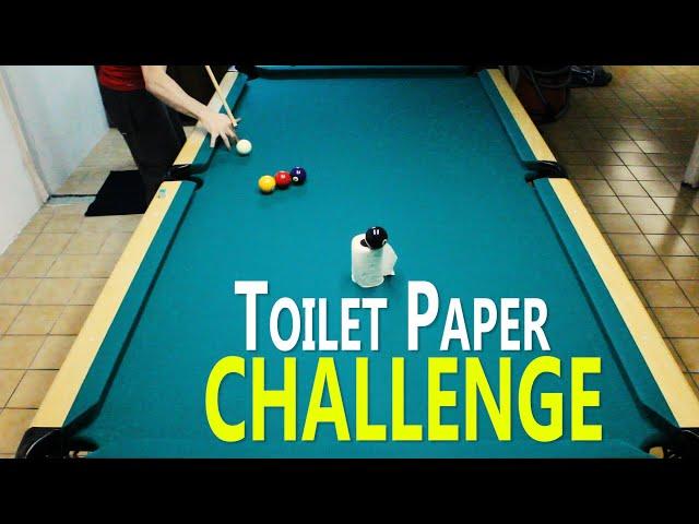 Toilet Paper Trick Shot