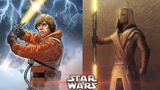 Star Wars Reveals LUKE SKYWALKERS YELLOW LIGHTSABER CANON