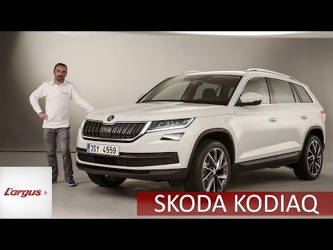 Présentation Skoda Kodiaq (2017)