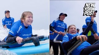 These handicapable surfers are trading in their wheelchairs for waves | New York Post