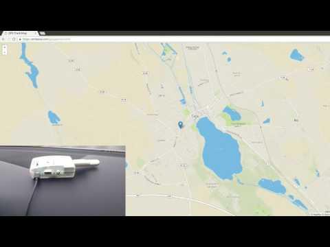 Raspberry Pi GPS Live Tracking System